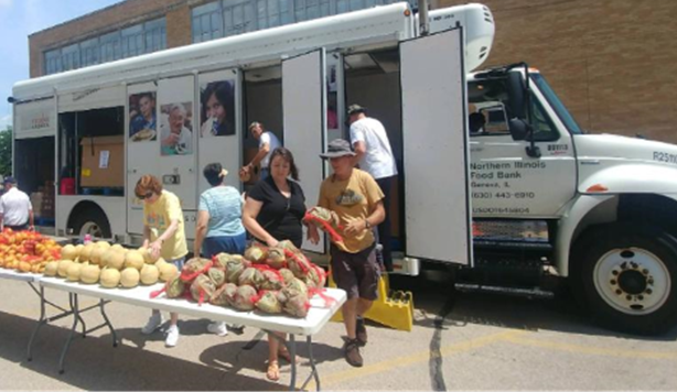 July Mobile Food Pantry